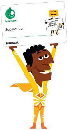 Gezinsbond spaarkaart